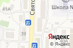 Схема проезда до компании Продовольственный магазин в Вишневе