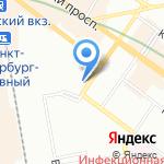Модный дом Татьяны Гордиенко на карте Санкт-Петербурга