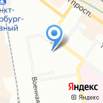 Фундамент на карте Санкт-Петербурга