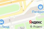 Схема проезда до компании Спринт в Санкт-Петербурге