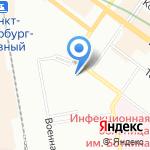 Адама на карте Санкт-Петербурга