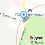 Мегаимпульс на карте Санкт-Петербурга