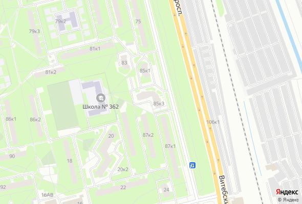 купить квартиру в ЖК Витебский 85