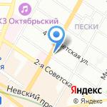 Нива на карте Санкт-Петербурга