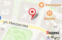 Схема проезда до компании Артет в Санкт-Петербурге
