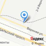 Водоузел на карте Санкт-Петербурга