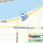 Инпредсервис на карте Санкт-Петербурга