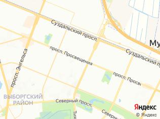 Аренда торгового помещения 150 м2, метро Проспект Просвещения