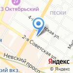 ЛюдВик на карте Санкт-Петербурга