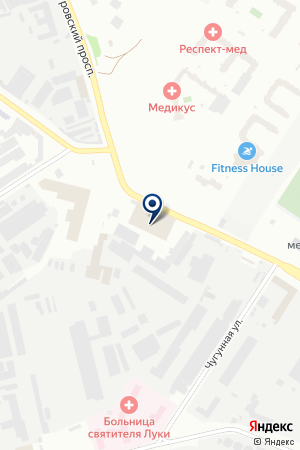 СЕРВИСНЫЙ ЦЕНТР АВТОСЕРВИС на карте Санкт-Петербурга