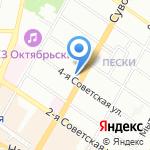 ЛАЙСА на карте Санкт-Петербурга