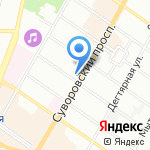 Фуруно Еврус на карте Санкт-Петербурга