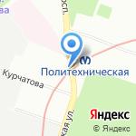 Бистро-шаверма на карте Санкт-Петербурга
