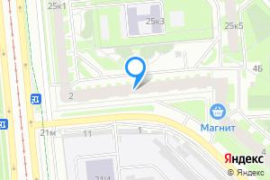 Однокомнатная квартира в Санкт-Петербурге ул. Веденеева, 2