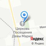 Католическая церковь во имя Посещения Пресвятой Девой Марией Святой Елизаветы на карте Санкт-Петербурга