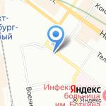 Храм-часовня святых новомучеников и исповедников Российских на карте Санкт-Петербурга