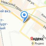 Гориславцев и К. Аудит на карте Санкт-Петербурга