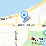 Альма Матер на карте Санкт-Петербурга