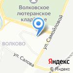 Акона на карте Санкт-Петербурга