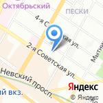 Мегатэкс на карте Санкт-Петербурга