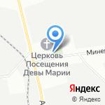 Арома на карте Санкт-Петербурга