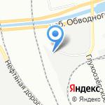 Копиа на карте Санкт-Петербурга