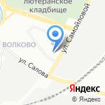 Мировые судьи Фрунзенского района на карте Санкт-Петербурга