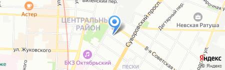 СМУ 17 на карте Санкт-Петербурга