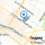 Bonape на карте Санкт-Петербурга