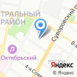 Гидроспецгеология на карте Санкт-Петербурга