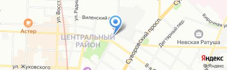 Кебаб на карте Санкт-Петербурга