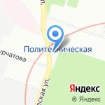 Городской центр управления парковками Санкт Петербурга на карте Санкт-Петербурга