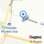 Shera на карте Санкт-Петербурга