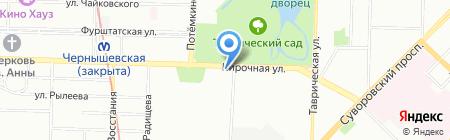 ЛСР. Недвижимость-Северо-Запад на карте Санкт-Петербурга