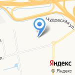 Средняя общеобразовательная школа №93 на карте Санкт-Петербурга