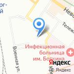 Кабинет психологической помощи Александра Матяша на карте Санкт-Петербурга