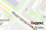 Схема проезда до компании Ароматный Мир в Санкт-Петербурге