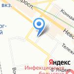 Дом Романовых на карте Санкт-Петербурга
