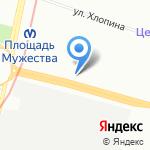 Главное управление жилищным фондом на карте Санкт-Петербурга