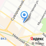 Crystal art на карте Санкт-Петербурга