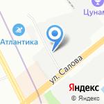 Питерский Скрапклуб на карте Санкт-Петербурга