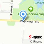 Банк Санкт-Петербург на карте Санкт-Петербурга