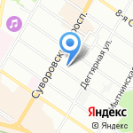 Велл на карте Санкт-Петербурга