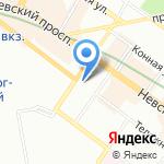 Лавка б/у на карте Санкт-Петербурга