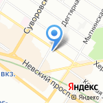 Элит на карте Санкт-Петербурга