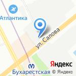 ТК ТРАНСЛОГИСТ на карте Санкт-Петербурга