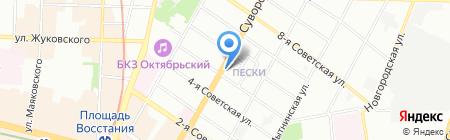 Русские блины у Наташи на карте Санкт-Петербурга