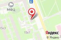 Схема проезда до компании Аккорд в Санкт-Петербурге