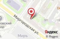 Схема проезда до компании Тойс Промо Проджектс в Санкт-Петербурге
