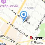 Детский сад №57 на карте Санкт-Петербурга